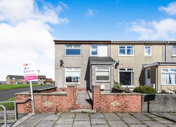 Thumbnail 3 bedroom end terrace house for sale in Bridgehousehill Road, Kilmarnock