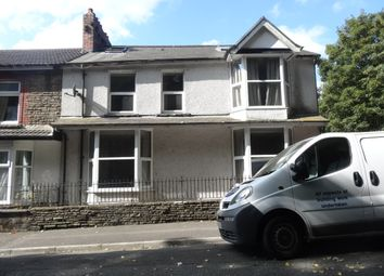 Thumbnail 1 bedroom end terrace house to rent in Lawn Terrace, Treforest, Pontypridd