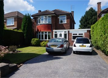 Thumbnail 3 bed detached house for sale in Shaftesbury Avenue, Altrincham