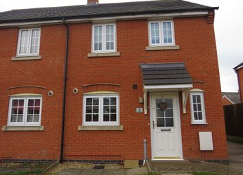 Thumbnail Semi-detached house for sale in Chaffinch Road, Desborough, Kettering