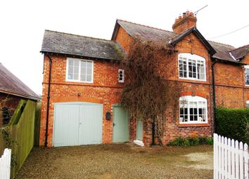 Thumbnail 4 bed semi-detached house for sale in Newton Lane, Newton-By-Tattenhall, Chester