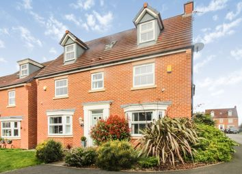Thumbnail 5 bed detached house for sale in Chicago Place, Great Sankey, Warrington
