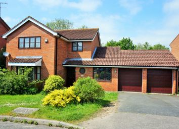 Thumbnail 4 bed detached house for sale in Sycamore Leys, Steeple Claydon