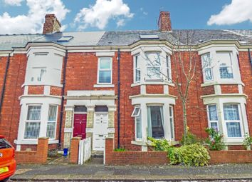 Thumbnail 5 bed terraced house for sale in Roxburgh Place, Heaton, Newcastle Upon Tyne