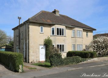 Thumbnail 3 bedroom semi-detached house for sale in Stonehouse Lane, Combe Down, Bath