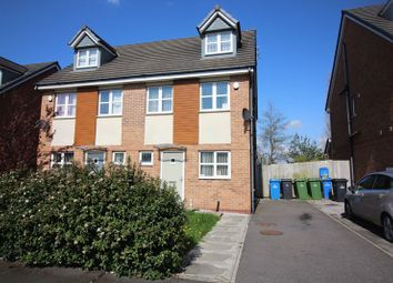 Thumbnail 4 bed semi-detached house to rent in Lockfield, Runcorn