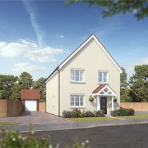 Thumbnail 4 bedroom detached house for sale in Orchard Crescent, King's Lynn