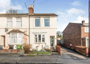 Thumbnail 3 bedroom end terrace house for sale in Portal Road, Bishopstoke, Eastleigh