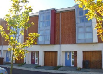 Thumbnail 4 bed town house to rent in Jamestown Boulevard, Ipswich