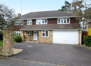 Thumbnail 5 bed detached house to rent in Hillsborough Park, Camberley
