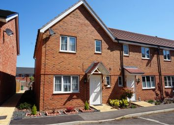 Thumbnail 3 bed end terrace house for sale in Northolt Close, Farnborough
