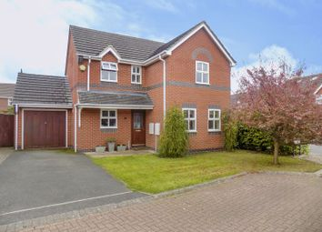 Thumbnail 4 bedroom detached house for sale in Pencarrow Close, Swindon