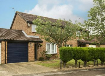 Thumbnail 3 bed semi-detached house for sale in Flamborough Close, Lower Earley, Reading