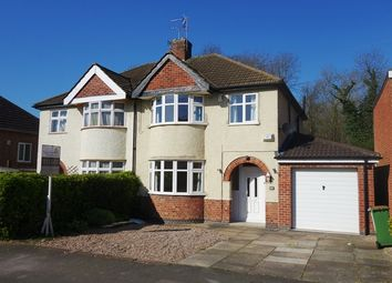 Thumbnail 3 bed semi-detached house to rent in Grange Drive, Glen Parva, Leicester