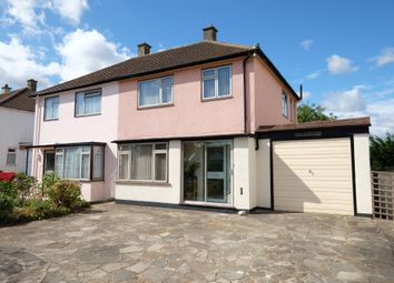 Thumbnail 3 bed semi-detached house for sale in Rookesley Road, Orpington