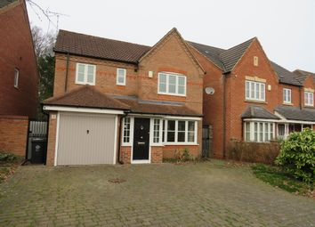 Thumbnail 4 bed detached house for sale in Rockery Close, Leicester