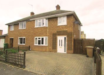 Thumbnail 3 bedroom semi-detached house to rent in Northgate, Whittlesey