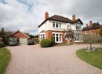 Thumbnail 4 bed detached house for sale in Adderley Road, Market Drayton