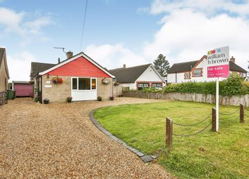 Thumbnail 3 bedroom detached bungalow for sale in Ketts Hill, Necton, Swaffham