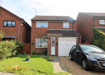 Thumbnail 3 bed detached house for sale in Hayfield Road, North Wootton, King's Lynn