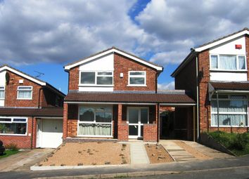 Thumbnail 3 bed detached house to rent in Okehampton Avenue, Leicester