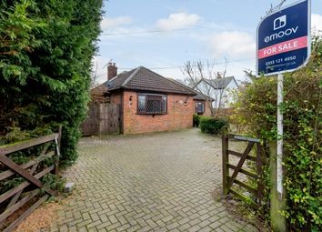 3 bed bungalow for sale in Mallows Lane, Gainsford End, Toppesfield, Halstead CO9