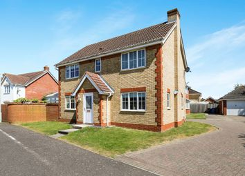Thumbnail 4 bed detached house for sale in Jaguar Close, Ipswich
