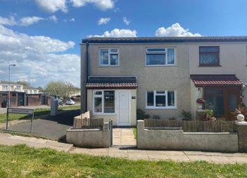 Thumbnail 3 bed end terrace house for sale in Brynfedw, Llanedeyrn, Cardiff