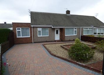 Thumbnail 2 bed bungalow for sale in Dilston Close, Shiremoor, Newcastle Upon Tyne, Tyne And Wear