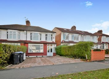 Thumbnail 3 bed semi-detached house for sale in Bowes Road, London