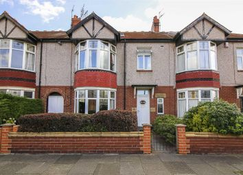 Thumbnail 5 bed terraced house for sale in Claremont Gardens, Whitley Bay