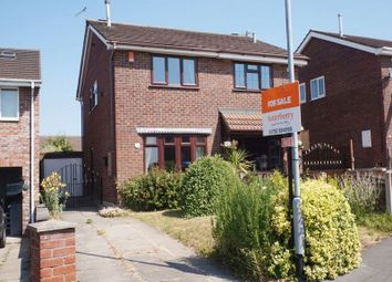 Thumbnail 2 bedroom semi-detached house for sale in Imogen Close, Fenpark, Stoke-On-Trent, Staffordshire