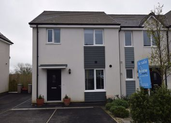 Thumbnail 3 bed semi-detached house for sale in Long Field Road, Launceston