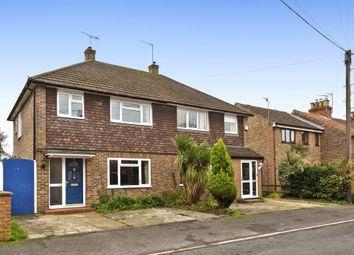 Thumbnail 3 bed semi-detached house for sale in Oakdene Road, Brockham, Betchworth, Surrey