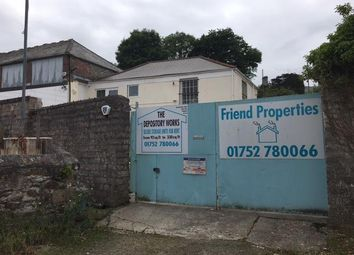 Thumbnail Warehouse for sale in The Depository, Widey View, Hartley, Plymouth