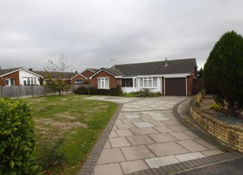 Thumbnail 3 bed detached bungalow for sale in Britannia Drive, Stretton, Burton-On-Trent