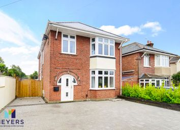 Thumbnail 4 bed detached house for sale in Hennings Park Road, Oakdale, Poole