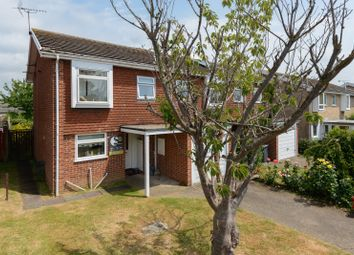 Thumbnail 4 bed semi-detached house for sale in Rushmead Close, Canterbury
