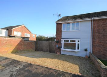 Thumbnail 3 bed semi-detached house for sale in Gonville Close, Heacham, King's Lynn