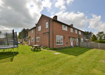 Thumbnail 4 bed semi-detached house for sale in Hall Lane, West Lexham, King's Lynn