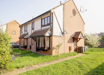 Thumbnail 1 bedroom semi-detached house for sale in Queensbury Close, Bedford