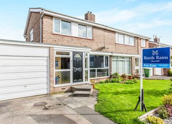 Thumbnail 3 bed semi-detached house for sale in Wishaw Close, Cramlington
