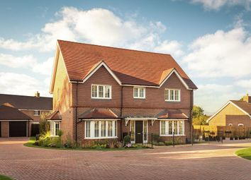 Thumbnail 4 bedroom detached house for sale in Amlets Place, Amlets Lane, Cranleigh