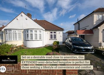 Thumbnail 2 bed semi-detached bungalow for sale in Uppingham Avenue, Stanmore