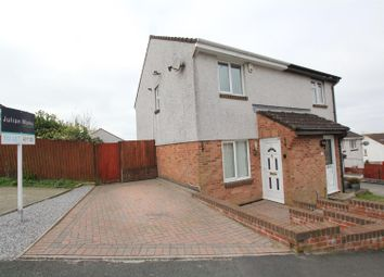 Thumbnail 2 bed semi-detached house to rent in Kitter Drive, Staddiscombe, Plymouth