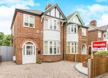 Thumbnail 3 bedroom semi-detached house for sale in Henley Road, Western Park, Leicester