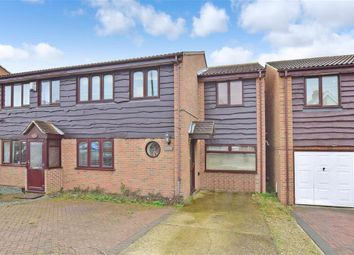Thumbnail 4 bed semi-detached house for sale in St. Richards Road, Deal, Kent