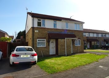 Thumbnail 2 bed semi-detached house for sale in Laureate Close, Llanrumney, Cardiff.
