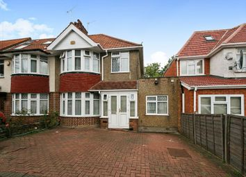 Thumbnail 4 bed semi-detached house for sale in Eastcote Avenue, Wembley