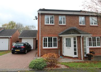Thumbnail 2 bed semi-detached house for sale in Garbridge Court, Appleby In Westmorland, Cumbria